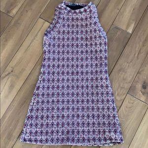 Zara quilted mini dress